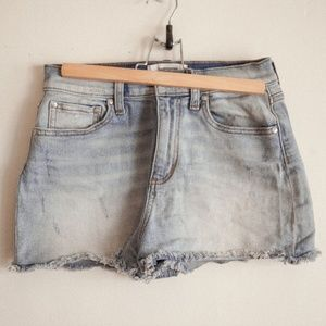 VS Pink Denim Jean Shorts